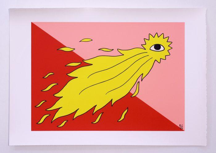 Hope. Ricardo Cavolo. Gunter Gallery. Printed in Ora Labora Studio. Serigrafía. Serigraphy.