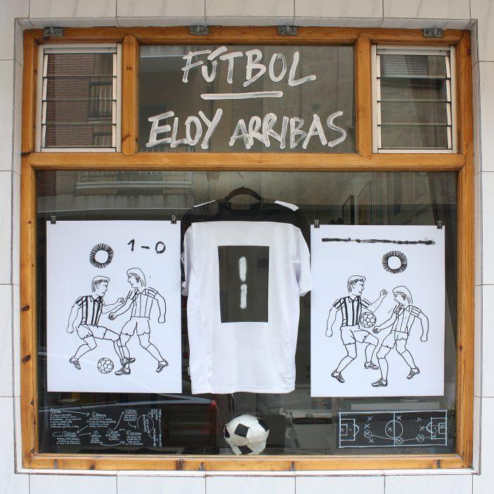 Exposición Fútbol de Eloy Arribas en Ora Labora Studio. Edición y comisariado por Ora Labora Studio.