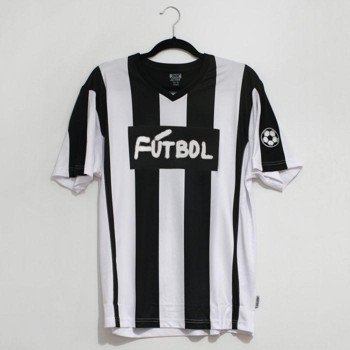 Serigrafía textil. Camiseta serigrafida. Fútbol. Eloy Arribas. Ora Labora Studio.