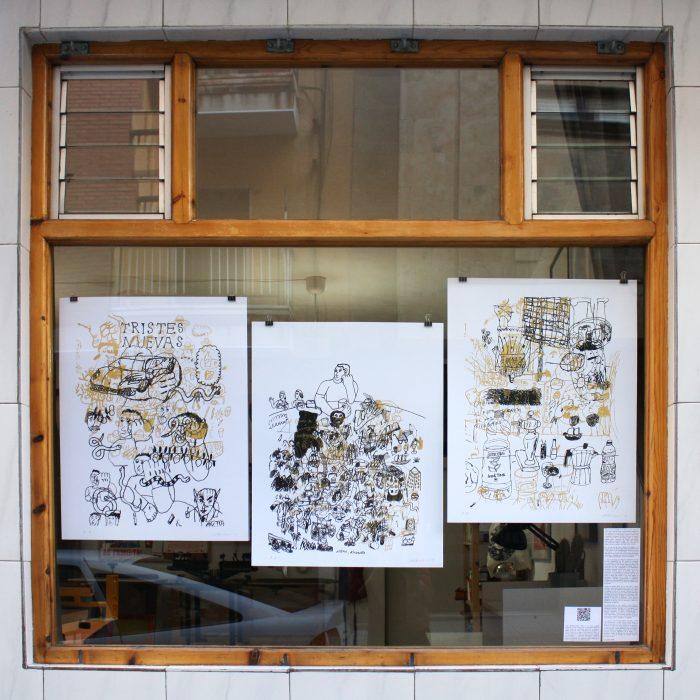 Juan Narowé. Las Mesas. Edición y comisariado por Ora Labora Studio.