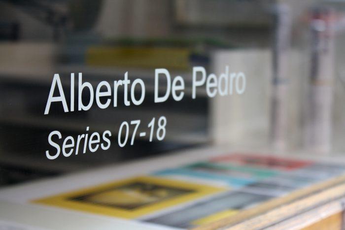 Exposición Series 07-18. Alberto De Pedro. Ora Labora Studio.